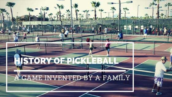 History Of Pickleball