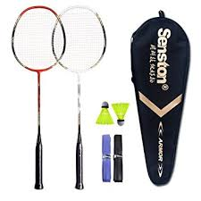 Senston - 2 Player Badminton Racquets Set